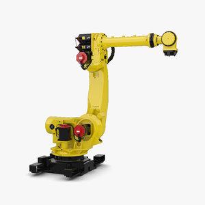3D fanuc robot