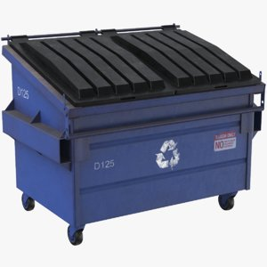 real dumpster 3D model