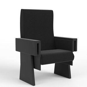 3d theater armchair 1