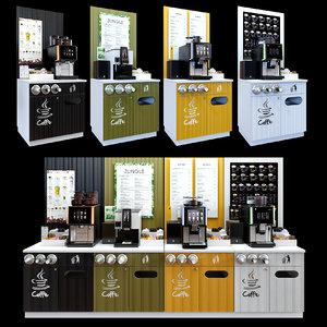 3D coffe store