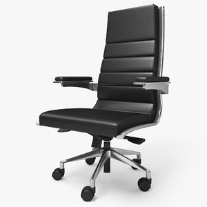 3D realistic office chair