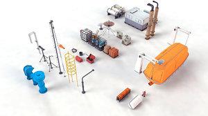 3D oil field stuff