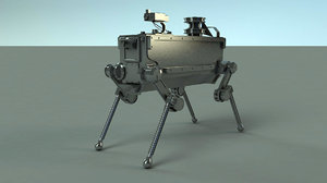 3D boston dog robot