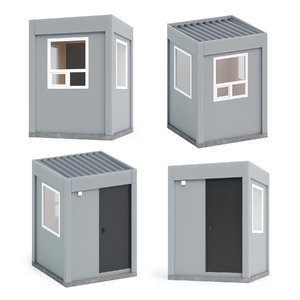 guard post 3D model