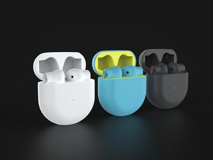 3D oneplus wireless earbuds official model