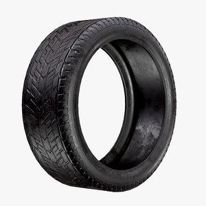 car tire aaa pbr 3D model