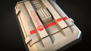 medical kit 3D model