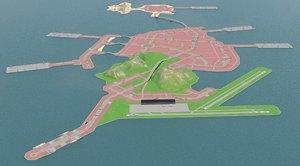 city island model