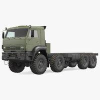 Kamaz 6350 8x8 Military Truck Chassis