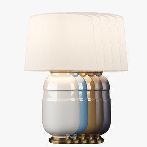 3D model cs3622 table lamp