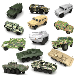 military vehicle model