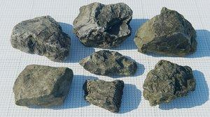 3D rocks materials model