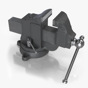 3D swivel table vise