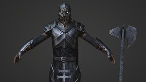 character male knight model