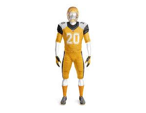 footbal uniform 3D model