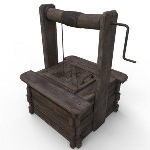 3D wooden model