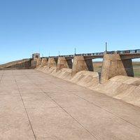 The Sepulveda Dam