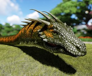 3D modeled animations model