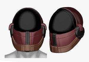 3D mask helmet sculpt printable