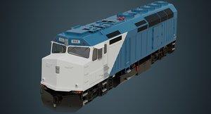 locomotive 1a 3D