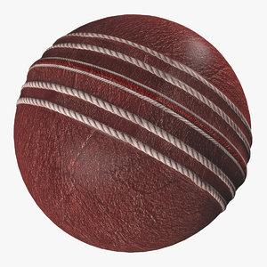 cricket ball 3D