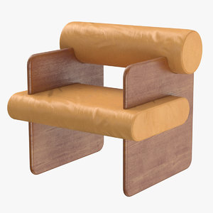 3D chair armchair seating