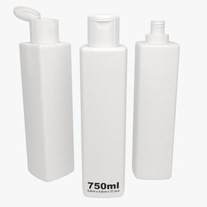 shampoo bottle type3 model