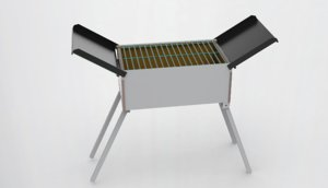 3D oven barbecuing