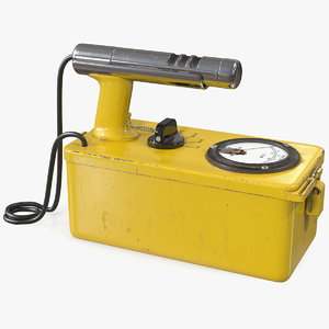 cold war geiger counter 3D