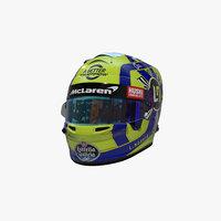 Norris helmet 2020