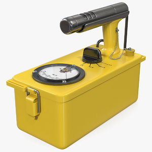 3D civil defence geiger counter