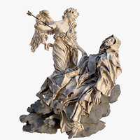 Ecstasy of Saint Teresa by Lorenzo Bernini