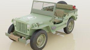 rig war 3D model