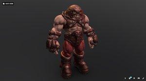 3D model character marvel