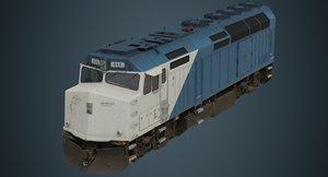 3D locomotive 1b
