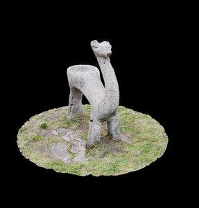 scan lama 3D model