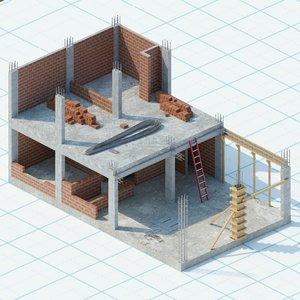 3D simple n2 construction