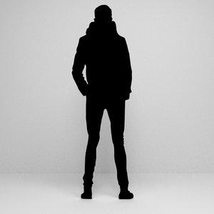 silhouette scenes 3D