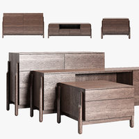 Zegen ASH chest of drawers set