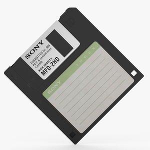 3 5 floppy disk 3D model