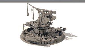 fantasy trebuchet model