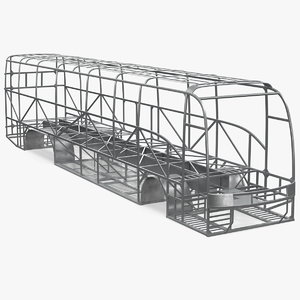 3D bus frame structure