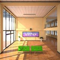 School Hall Entrance