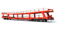 Car Transporter Railroad Wagon