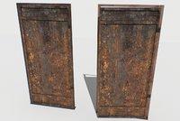 Rusty Metal Door 1