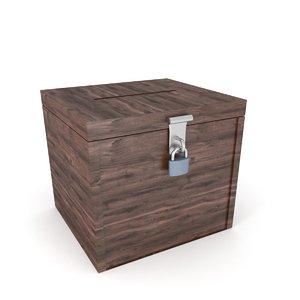 ballot box 3D