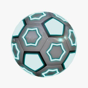 3D model futuristic ball