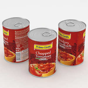 3D food tomatoes model