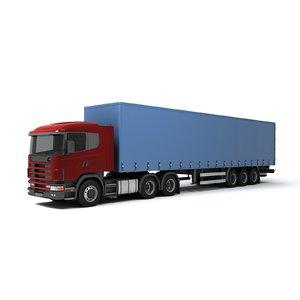 semi truck model