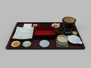 3D japanese dinnerware plate dishes